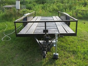 16 Foot Utility Trailer See Photos You Pick Up