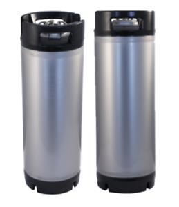 2 Two Corny Kegs 5 Gallon Ball Lock W Prv Cornelius Homebrew Beer New