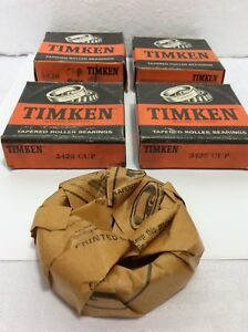 Timken 3420 Tapered Roller Bearing Cup lot Of 4
