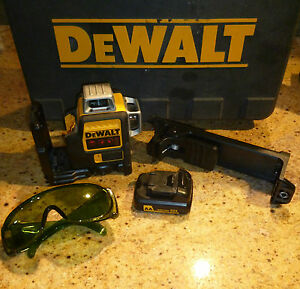 Dewalt Dw089lr lg Laser Level In The Case