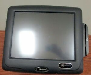 Radiant Systems P1515 Pos Touch Screen Terminal Aloha With Card Reader