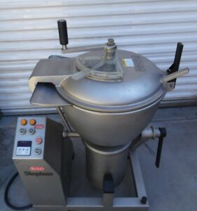 All Stainless Steel Stephan Vcm44a 2 Speed Vertical Cutter Chopper Mixer Hobart