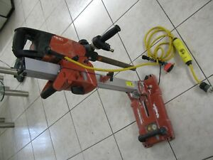 Hilti Dd 150 u Concrete Diamond Core Drill System With Stand And Bits