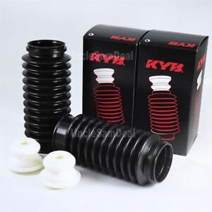 Sb103 Pair Kyb Suspension Shocks Struts Bellow Dust Boot W Bumper Bump Stop