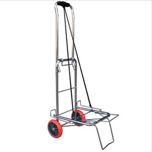 143lb Folding Deer Cart Game Hauler Utility Hunting Accessories Gear Dolly Cart