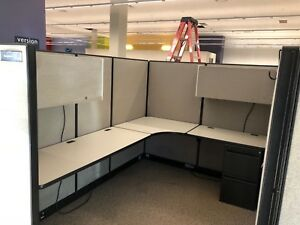 Cubicle partition System By Haworth Unigroup 6ft X 8ft