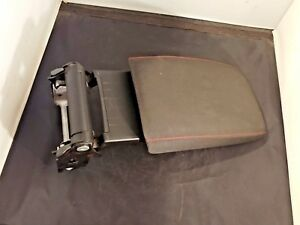Oem 2010 2014 Vw Gti Mk6 Black W Red Stitch Arm Rest Center Console Extending