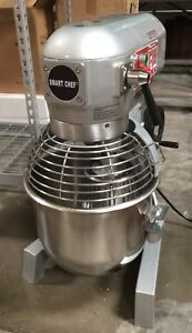 1 2 Hp 20qt Commercial Bakery Dough Food Mixer Gear Driven Three Speed W etl Nsf