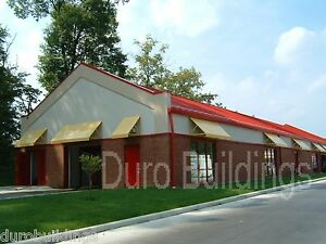 Durobeam Steel 30x40x15 Metal Building Kit Retail Commercial Structures Direct