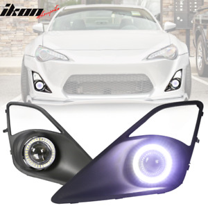 Fits 12 16 Scion Fr s Toyota Gt86 Front Bumper Clear Fog Lights Left Right