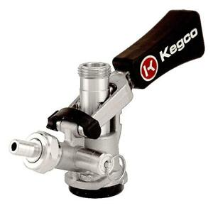 Kegco Kc Kts97d w D System Keg Tap With Black Lever Click Handle Stainless