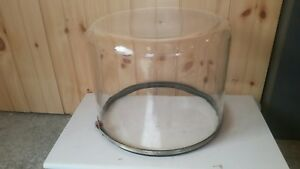 Pyrex Bell Jar Large 16 X 12 Tall With Port In Top