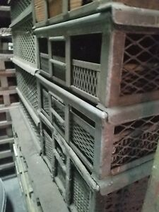 Stackable Utility Baskets Industrial Storage Bins Heavy Duty Material Handling