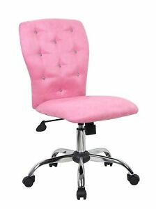 Boss Office Products B220 pk Tiffany Modern Office Chair In Pink
