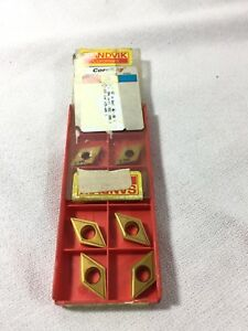 New Sandvik Lathe Turning Inserts Dcmt 11 T3 04 uf 235 10 Pieces 1 Box
