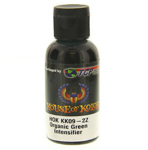 2 Oz Organic Green Kandy Koncentrate Intensifier House Of Kolor Concentrate Kk09