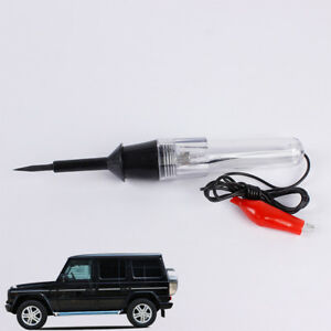 Car Wire Circuit Tester Dc 6 12 24v Voltage Probe Pen Electric Auto Test Light