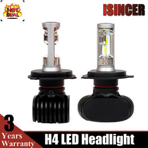 2x H4 Cree Led Headlight Car 9003 Hb2 180w 6500k Replace Hi Lo Beam Bulb Lamp Hg