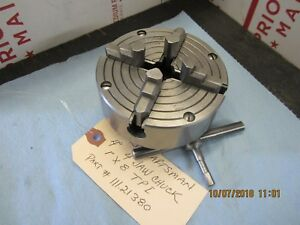 Atlas Craftsman 101 618 6 Lathe 4 4 Jaw Independent Chuck 1 X 8 T p i