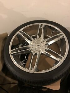 24inch Chevy Wheels And Tires