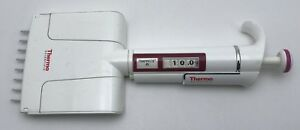 Thermo Finn F1 8 Channel Multichannel Pipette 1 10ul Cleaned And Calibrated