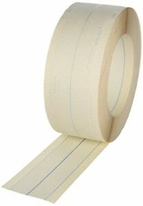 Strait Flex Wf 100 4 inch X 100 feet Wide Flex 4 Paper Face Composite Tape