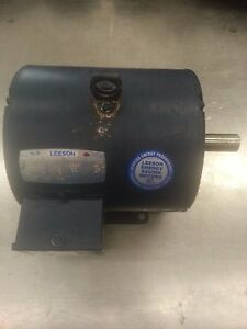 Leeson Ice Cream Batch Freezer Carpigiani 502 Beater Motor Model C182t17db33a