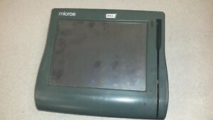 Micros Pos Workstation 4 400614 Complete Unit For Parts