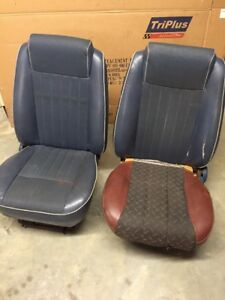 85 1985 Ford Bronco Ll Bucket Seats Low Back Oem