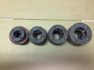 Lot Of 4 Ridgid Pipe Threader 12 r Die Head