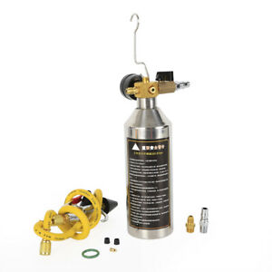 New A C Ac Air Conditioner System Flush Canister Gun Kit R134 R12 R22 R410 R404