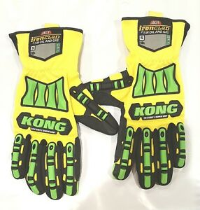 Ironclad Kong S m Dexterity Supergrip Oil Gas Safety Impact Gloves sdxg2 02 03