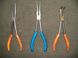 Cornwell Tools 3 Pc 11 Long Plier Set