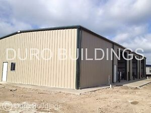 Durobeam Steel 40x120x16 Metal Prefab Rigid Frame Clear Span Building Kit Direct