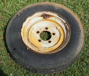 Hefty G Model G Rear Engine Tractor Row Crop Front Wheels Rims