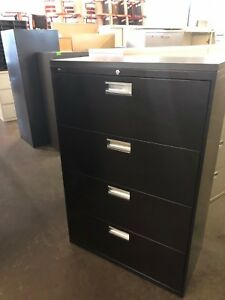 4 Drawer Lateral Size File Cabinet W top By Hon Office Furniture W lock