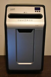 Staples Spl xc240p Professional 24 sheet Cross cut Paper Shredder Excellent