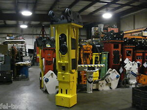 Indeco Hp10000 Hydraulic Hammer Breaker rebuilt 10000 Ft Lb Fel tech Rebuilt