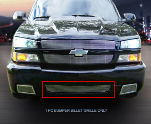 Billet Grille Front Bumper Grill Insert For Chevy Silverado 1500 Ss 2003 2006