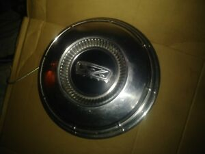 One Vintage1968 1974 Ford F 100 Truck Dog Dish Hubcap 10 5 8