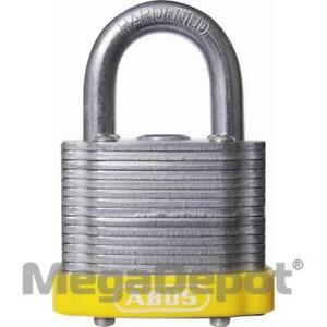 Abus 41 40 B Ka Yellow 41 Series Ls Padlock Keyed Alike Yellow Bumper