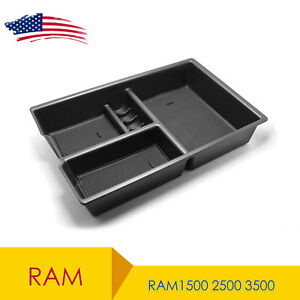 For Dodge Ram 1500 2500 3500 2009 2018 Lower Center Console Organizer Tray