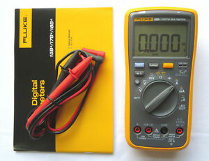 New Us Fluke Digital Multimeter F18b Led Tester 18b Voltmeter Replace F18b