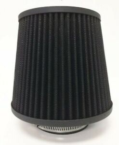 Black 2 5 Inch 63mm Universal Cone Air Filters For Bmw M3 M5 M6 Z3 Z4