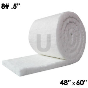 Unitherm Ceramic Fiber Insulation Blanket 8 Density 2300 f 0 5 x48 x60