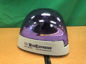 Isc Bioexpress Mini Tabletop Centrifuge C1301p isc With Rotor