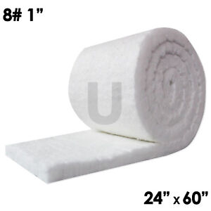 Unitherm Ceramic Fiber Insulation Blanket 8 Density 2300 f 1 x24 x60