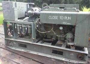 Mep 003a Military Diesel Generator 10kw Onan Army Video 1 3 Phase 1991 Prepper