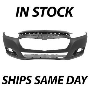 New Primered Front Bumper Fascia Replacemnt For 2014 2015 Chevy Chevrolet Malibu