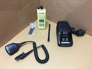 1 Police Fire Motorola Xts3000 2 Vhf P25 Digital Narrowband Radio W Programming